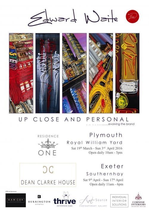 Up Close and Personal Exhibition 2016