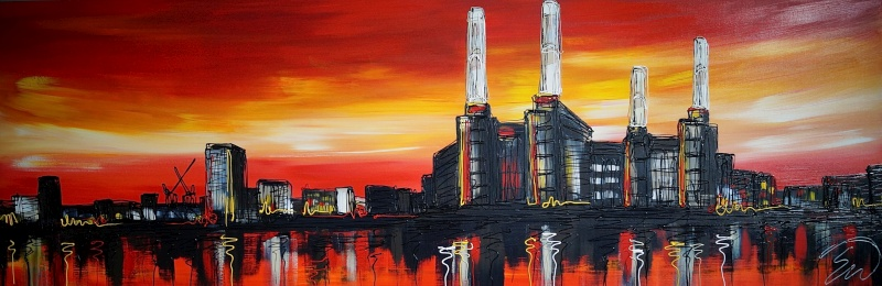 Battersea Power Station 24x72