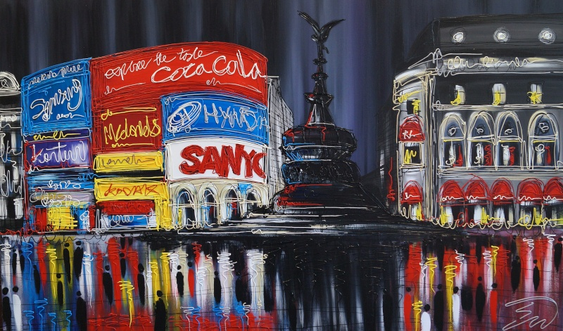 Piccadilly Lights.36x60