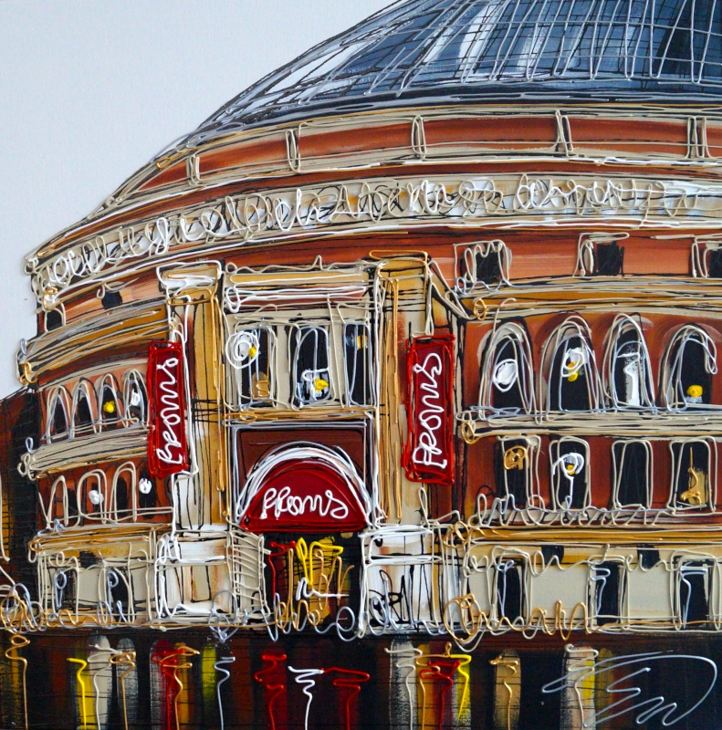 Royal Albert Hall 24x24