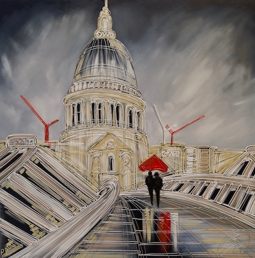 The Walk To St Pauls 40x40
