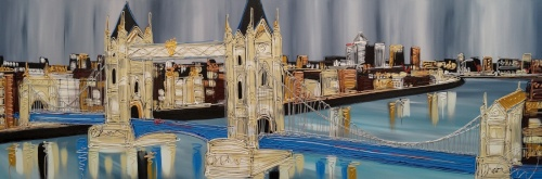 Tower Bridge 24x72