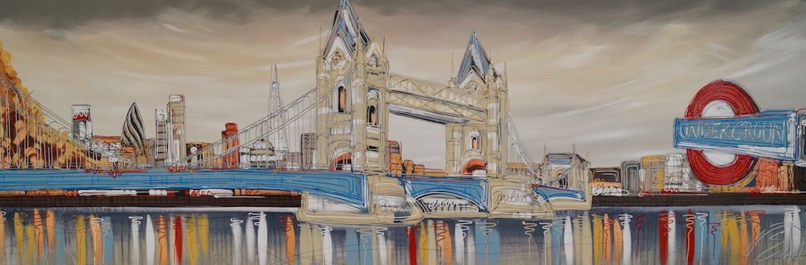 Tower Bridge Montage 72x24