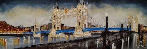 Tower Bridge Standing Proud 24x72