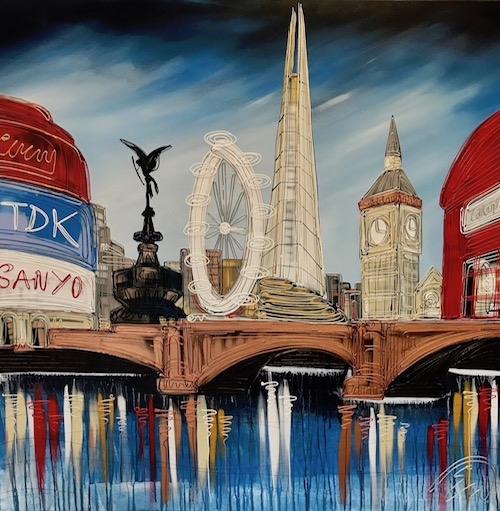 Icons of London 40x40