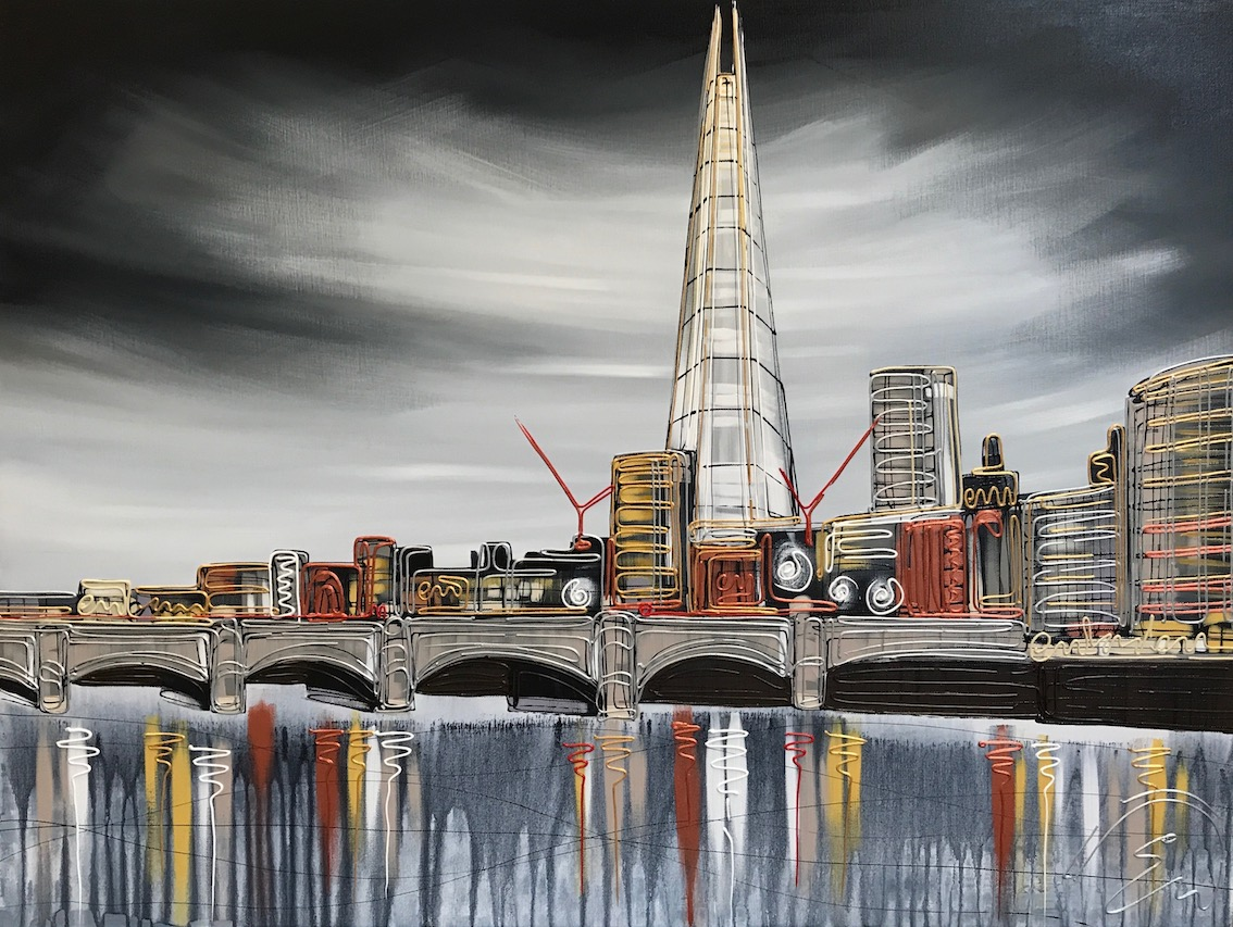The Shard of Glass 30x40