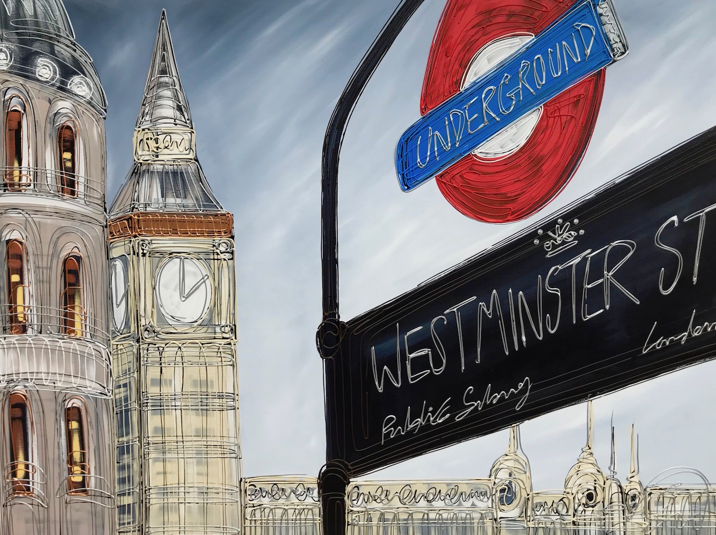 Westminster Station 30x40