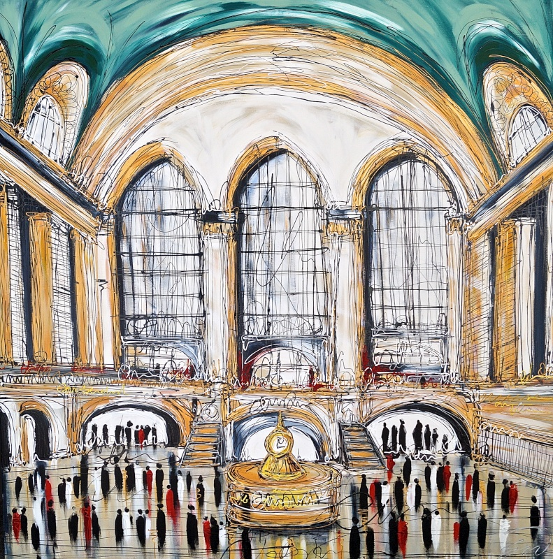 Grand Central Station 60x60