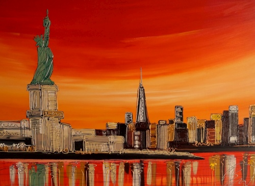 The Statue of Liberty 30x40