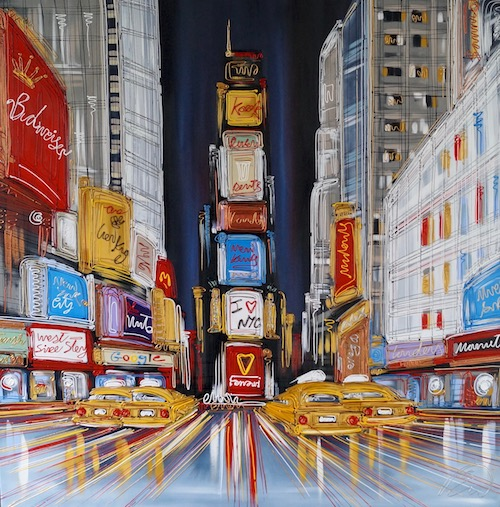 Time Square 50x50