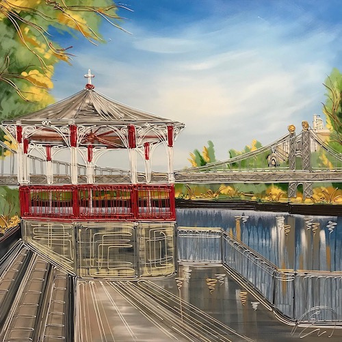 Chester Band Stand 40x40