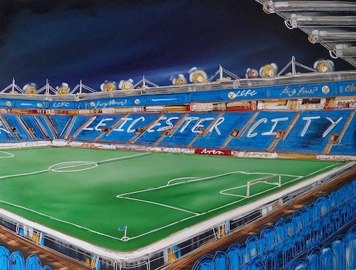 A Night at the Champions League 30x40