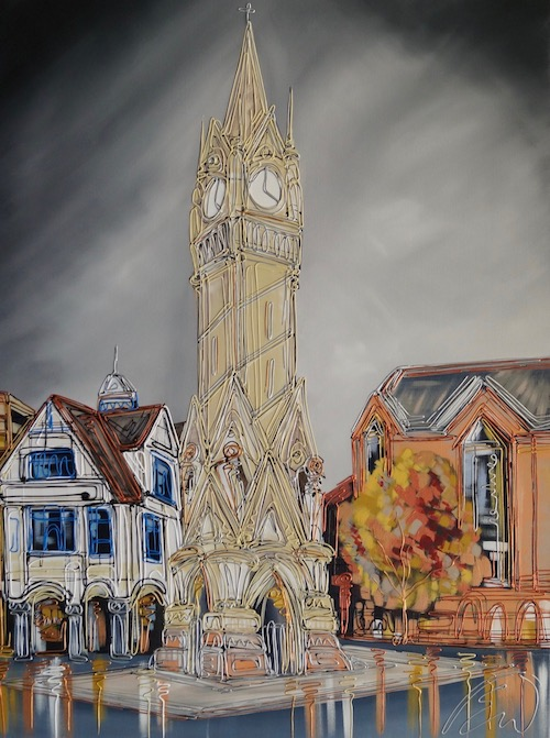 Leicester Clock Tower 30x40