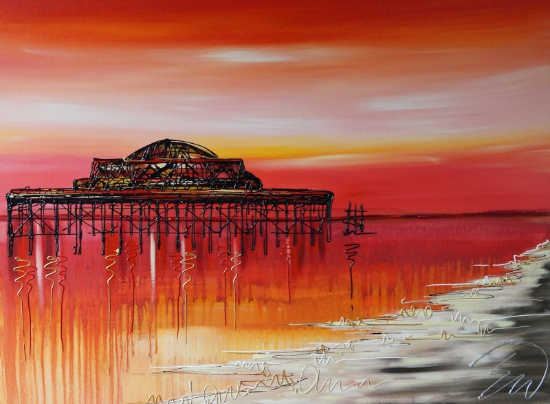 The Old West Pier 30x40