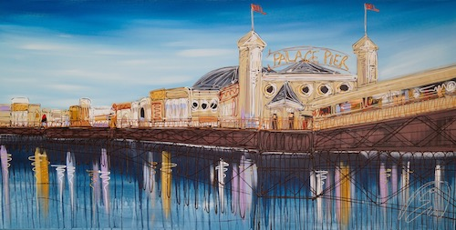 The Palace Pier Is Back 48x24