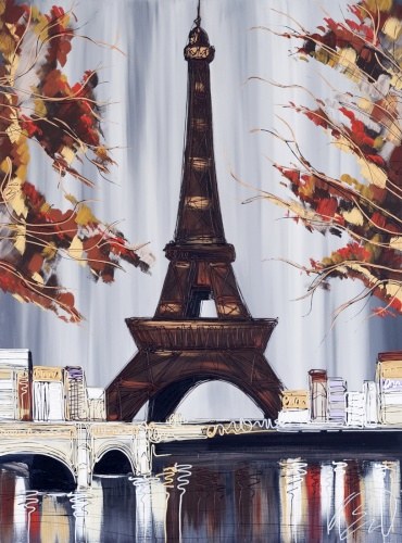 Autumn Eiffel Tower 30x40