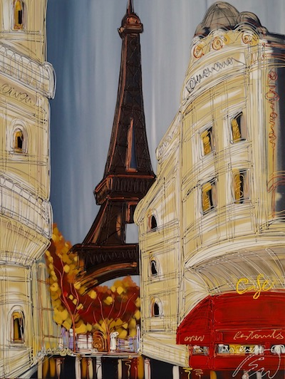 Romance In Paris 30x40